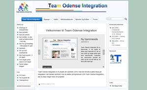 Team Odense Integration - hjemmeside lavet af Folierullen.dk