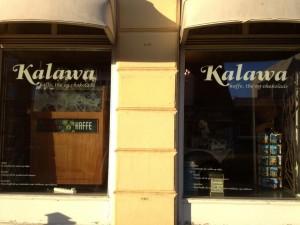 dekoration af butiksruder - Her er det Kalawa