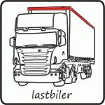 dekoration af lastbiler