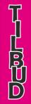 Tilbudsskilt 9: Tilbud (pink)