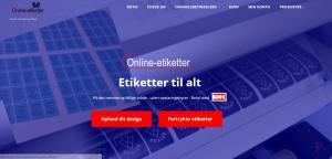 Online-etiketter.dk bestil dine egne etiketter